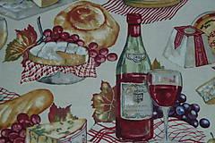 Textil - Látka Francúzska kuchyňa - 8193697_