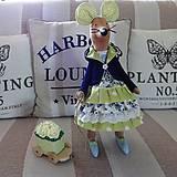 Myška zelenomodrá