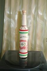 Narodeninová fľaša - trikolór