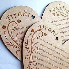 Darčeky pre svadobčanov - Poďakovanie rodičom - 8190840_