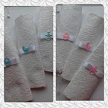 Úžitkový textil - stužky na servítky  / sada 3 ks / - 8191427_