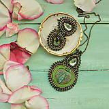 Sady šperkov - Voyage en Arabie  - Mossy Green - sada šperků - 8191498_