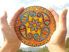 Dekorácie - Etno Mandala Pohody - 8190747_