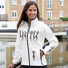 Kabáty - Softshellová bunda dámska tanečnice - 8190097_