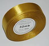 - Stuha saténová 8009 - 2,5 cm / 32 m - 8190367_