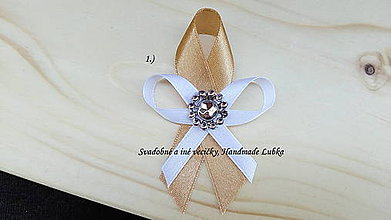 Pierka - Svadobné pierka - zlatá - 8191220_