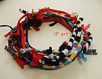 Náhrdelníky - Úpletový náhrdelník - 8193709_