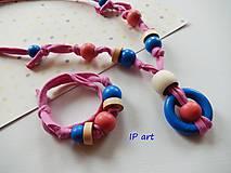 Sady šperkov - Set - náramok a náhrdelník - 8193743_