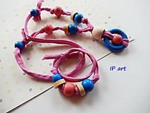 Sady šperkov - Set - náramok a náhrdelník - 8193744_