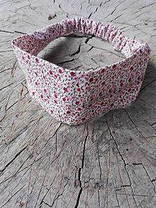 Ozdoby do vlasov - Čelenka - pink flowers - 8191282_