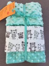 Textil - deka pre bábätko - mackovia - 8192704_