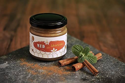 Potraviny - Med s cejlónskou škoricou - 8191372_