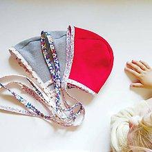 Detské čiapky - čiapka čepčeková \