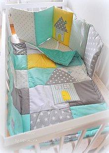 Textil - IHNEĎ k odberu 1ks mantinel 240cm+deka 70x90cm - 8196803_