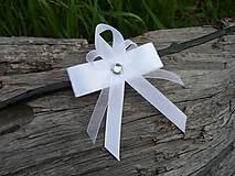 Svadobné pierko Biela elegancia...