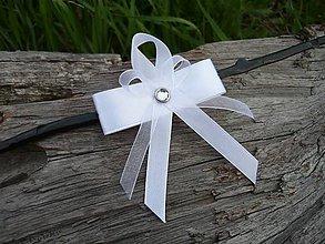 Pierka - Svadobné pierko Biela elegancia... - 8197193_