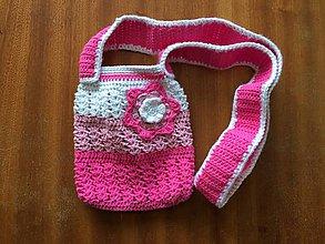 Detské tašky - Kabelka s kvietkom - 8195937_