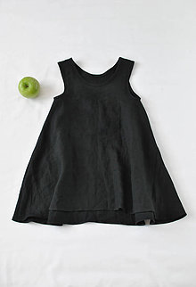 Detské oblečenie - Šaty ELLA čierne - 8194267_