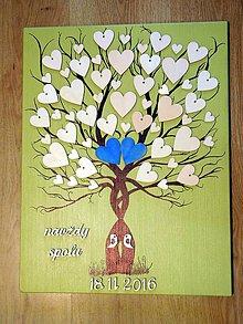 Dekorácie - svadobná kniha hostí 2 - 8195384_