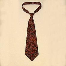 Doplnky - kravata leopard - 8196930_