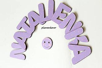 Detské doplnky - Natalienka meno na dvere - 8194367_