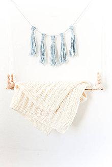 Textil - Lovely... Tender... deka... #3... 100% vlna - 8195943_