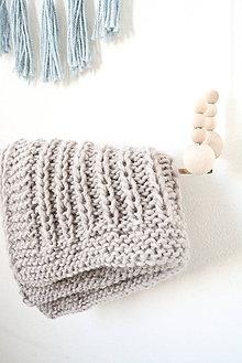 Textil - Lovely... Tender... deka... #4... 100% vlna - 8196503_