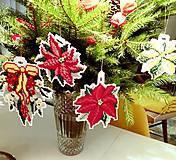 Dekorácie - Luxusní kolekce vánočních ozdob. - 8197366_