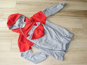 Tehotenské oblečenie - Mikina na nosenie dieťatka - 8194411_