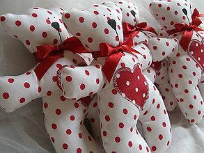 Darčeky pre svadobčanov - Macko - 8195925_