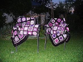 Úžitkový textil - Plná náruč fialového snenia - 8197022_