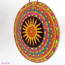 Dekorácie - Etno Mandala Dobrej Nálady - 8199599_