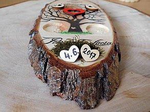 Prstene - vintage svadba/vankúšik pod svadobné prstene XXI - 8198724_