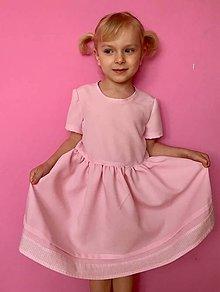 Detské oblečenie - DIEVČENSKÉ ŠATOČKY barbie - 8199420_