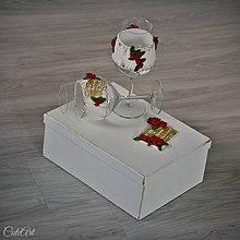 Nádoby - Sada svadobných pohárov v darčekovom balení - 8200032_