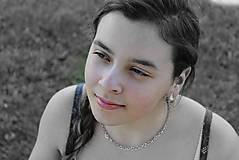 Prstene - strieborný prsteň - MODROTLAČ - 8199050_