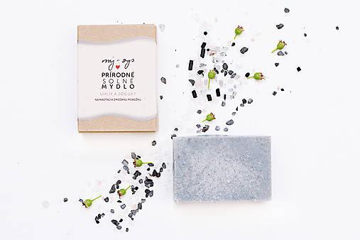 Drogéria - Soľné mydlo Uhlie a Jogurt - 8199253_