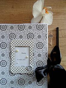 Papiernictvo - svadobný zápisník/poznamkovník A5 - 8201818_