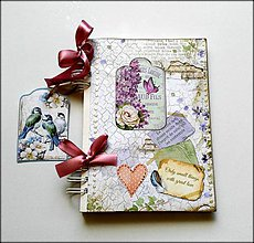 Papiernictvo - Linajkový zápisník ,,Orgovánové listy\