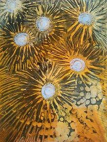 Obrazy - Kvety v oranžovej..... - 8200947_