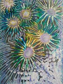 Obrazy - Kvety v zelenom...... - 8200958_