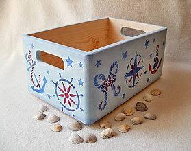 Nábytok - Debnička pre malého námorníka - 8202180_