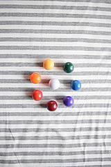 Textil - Jednolíc BAMBUS vis. elastický – proužek šedý melír 5 mm - 8202354_