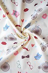Textil - Bavlněné plátno retro - 8202368_