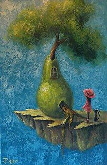 Obrazy - U ovocného stromu - 8201539_