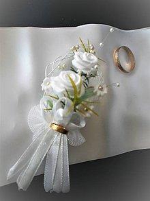 Pierka - Svadobné pierka pre svedkov a rodičov - 8203700_