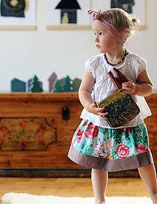 Detské oblečenie - Vlčí máky - 8203240_