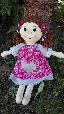 Hračky - Handrová bábika Mia - 8203152_