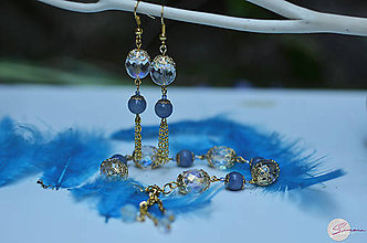Sady šperkov - Romantický set s aventurínom - 8208214_