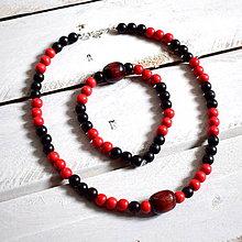 Šperky - Mayan/set náhrdelník + náramok - 8207931_